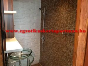 Rozmaring apartman fürdő
